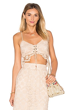 Winston White Gabriella Top in Champagne