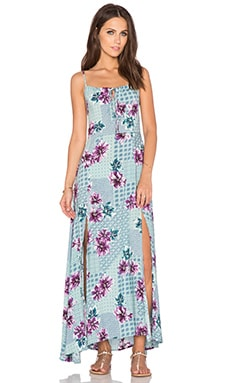 Wilde Heart Lost For Words Maxi Dress in Floral