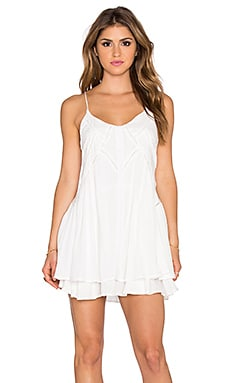 Wilde Heart Lucky Star Shift Dress in White