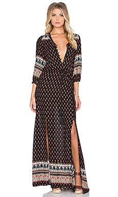 Wilde Heart Be Mine Maxi Dress in Print