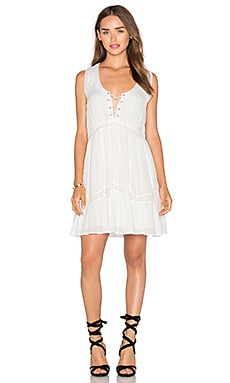 Lost in Lunar Time After Time Dress in White
