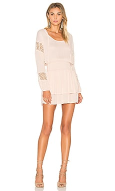Lost in Lunar Escape Dress in Blush