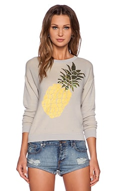 Wilde Heart Pineapple Crush Jumper in Grey