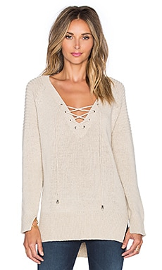 Wilde Heart Last Call Sweater in Oatmeal