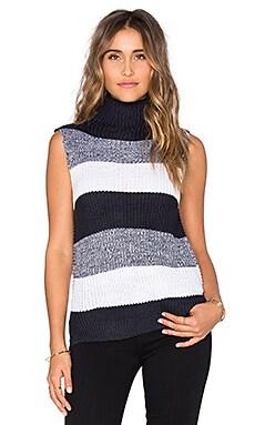 Wilde Heart Shelly Knit Sweater in Navy Blend