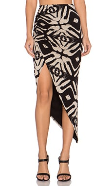 Wilde Heart Free Spirit Maxi Skirt in Tie Dye