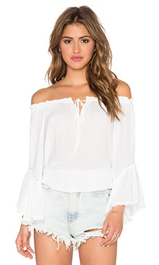 Wilde Heart Desert Wanderer Top in White