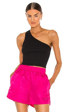 The Rivington Cropped One Shoulder Top WSLY $58