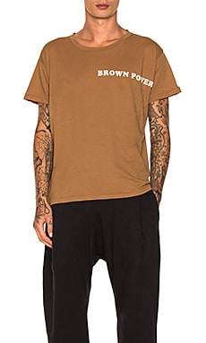 Brown Power Tee