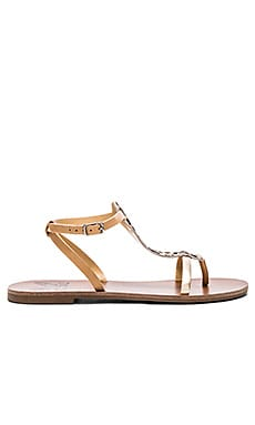 Warm Creature Cosmic Cow Hair Sandal in Natural & Leopard