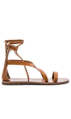 Hope Sandal in Cognac