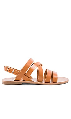 Warm Creature Aurora Sandal in Cognac