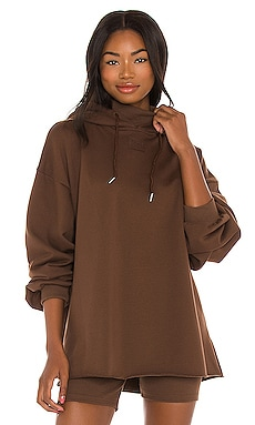 LNGE Oversized Hoodie Winter Muse $69