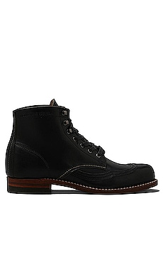 1000 Mile Addison Wingtip Boot en Noir