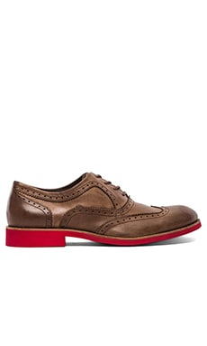 Wolverine 1883 Wing-Tip Brogue in Brown Upper/Red