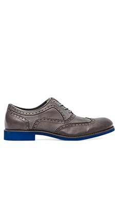 Wolverine 1883 Wing-Tip Brogue in Grey Upper/Blue
