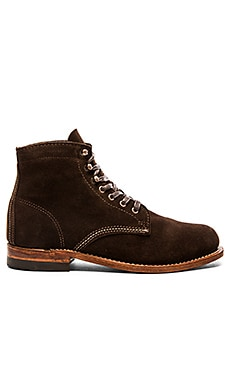 Wolverine 1000 Mile Original Boot in Brown Suede