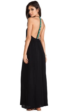 EXCLUSIVE Veve Maxi Dress in Schwarz