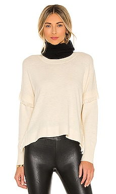 Social Distancing Snood White + Warren $145 NEW