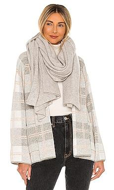 Travel Wrap White + Warren $189