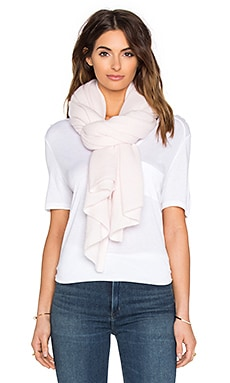 White + Warren Wrap in Peony Heather