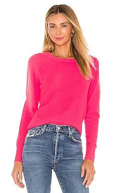 Long Sleeve Crew Neck Sweater White + Warren $265