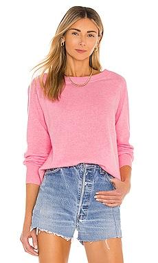Cashmere Long Sleeve Sweatshirt White + Warren $275