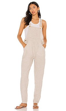 Basic Linen Overalls WeWoreWhat $178