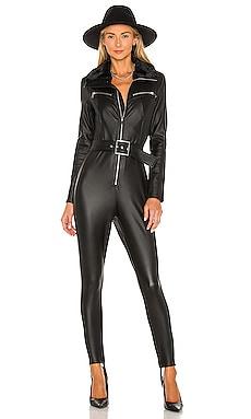 Faux Fur Collar Ski Suit WeWoreWhat $248