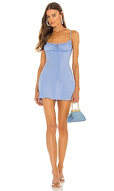 Ruched Mini Dress WeWoreWhat $135 NEW
