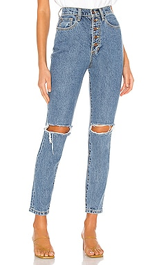The Danielle High Rise Straight WeWoreWhat $158