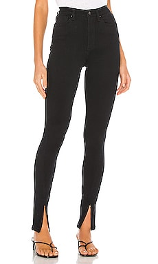 High Rise Skinny Zip WeWoreWhat $138
