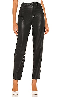 Dani Vegan Leather Boyfriend Pant WeWoreWhat $139