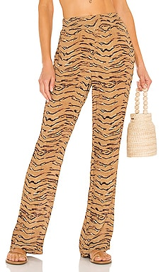 Smocked Flare Pant WeWoreWhat $145