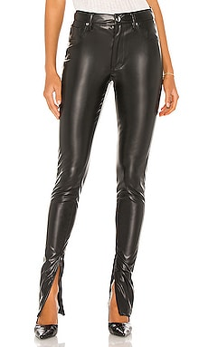 Stiletto Vegan Leather Zip Pant WeWoreWhat $198