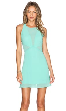 WYLDR Glitter Dress in Aqua