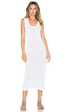 WYLDR Knit Midi Dress in White