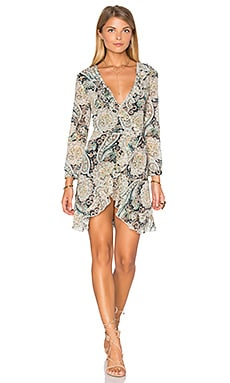 WYLDR Wicked Games Dress in Paisley