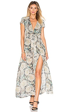 Flawless Maxi Dress in Paisley