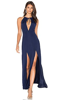 WYLDR Out Of My League Maxi Dress in Navy