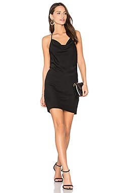 Superstitious Mini Dress in Black