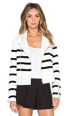 WYLDR Stardust Jacket in White & Black
