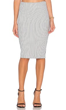 WYLDR Delilah Pencil Skirt in Multi