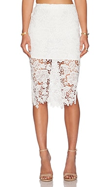 WYLDR Deal Breaker Skirt in White