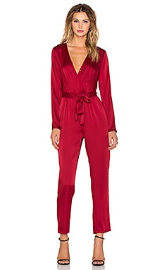 WYLDR Sophie Jumpsuit in Red