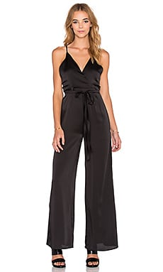 WYLDR Vida Wide Leg Jumpsuit in Black