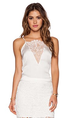 WYLDR Drunk in Love Cami in White