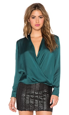 Sabrina Blouse in Teal