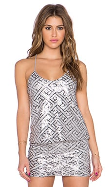 WYLDR Wise Up Cami in Silver