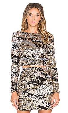 WYLDR First Class Long Sleeved Top in Multi